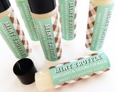 Mint Truffle Lip Balm, Lip Moisturizer, Lip Gloss, Moisturizing Avocado and Jojoba Oil Lip Balm, Mint Lip Balm, Chocolate Lip Balm
