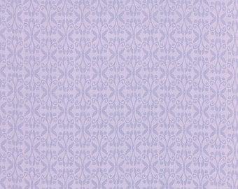 True Luck Lilac Trellis / Butterflies - Stephanie Ryan for Moda Fabrics