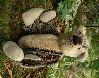 Dougie OOAK Handmade Miniature Mohair Teddy Bear