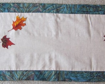 Fall Table Runner-QuiltsbyShirley