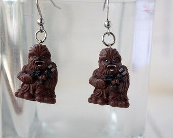 Chewbacca Stainless steel earrings