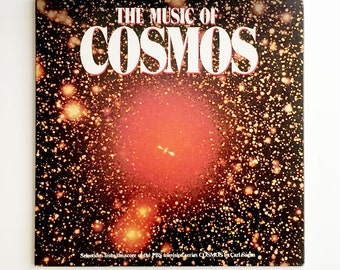 """Rare """"The Music of the Cosmos"""" Vinyl Soundtrack (1981) Bach, Vangelis, Stravinsky - Very Good Condition"""