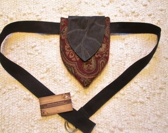 Elven Leaf Tribal Boho Pixie Pocket Festival Tapestry Utility Belt