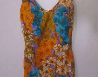 Rose Marie Reid Floral Print Bathing Suit