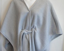 Shoulder Shirt Fleece Cape- Post Surgery Outerwear/ Shoulder- Mastectomy- Breast Cancer/ Special Needs/ Hospice/ Breastfeeding-Style Shandra