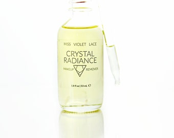 Makeup Remover | Quartz Crystal Infused Makeup Remover Oil | 100% natural & vegan