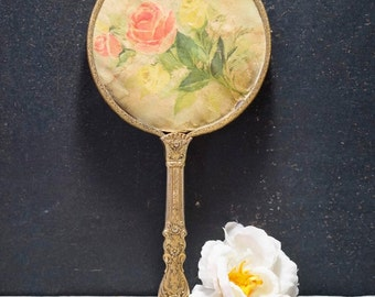 Vanity Mirror with Roses