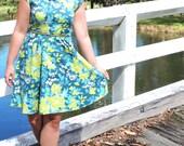 Sweet Summertime Dress and Peplum