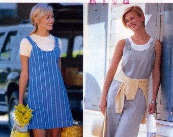 Butterick 4864 Sewing Pattern for Misses' Jumper, Jumpsuit and Top - Uncut - Size 12, 14, 16