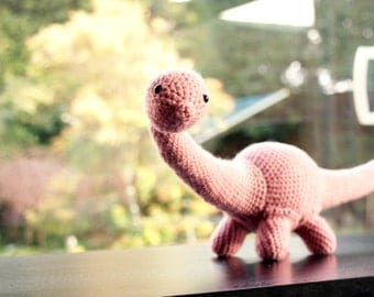Daisy The Diplodocus - Dinosaur Crochet Pattern. Instant Download Digital Crochet Pattern.