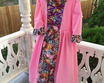 Girl's Ships Today  - Colonial Dress, Felicity, American Girl Costume -   Girls Sz  5 - 6
