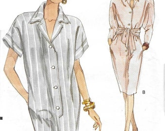 Vogue 7771 Women's 90s Tapered Dress Sewing Pattern Bust 42 44 46