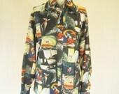 1970s Mickey Mouse Fantasia Disco Shirt Top