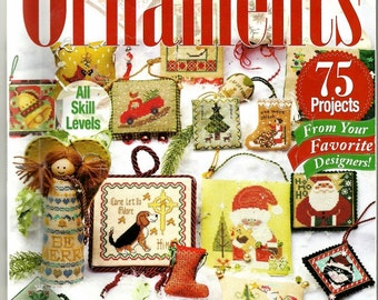 Just Cross Stitch Special 2014 CHRISTMAS ORNAMENTS Issue, 75 Projects