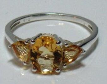 Citrine (Ovl) Ring