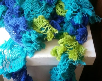 NEW LISTING - Soft Warm Scarves in Vibrant Colors