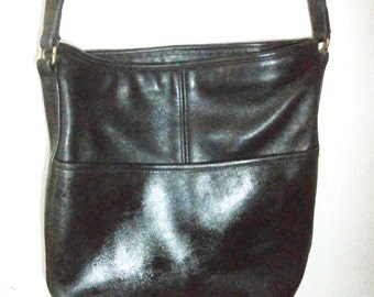 Coach Shoulder Bucket bag COACH~Coach Bag~Coach SOHO~ Bucket Bag~ Feed Bag~Black Coach Bag