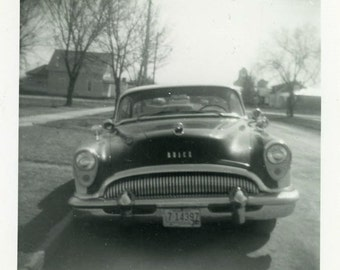 "Vintage Photo ""Uncle Roger's Car"" Snapshot Old Antique Photo Black & White Photograph Found Paper Ephemera Vernacular - 137"
