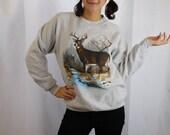 Vintage 1990 Deer Sweatshirt