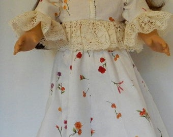 """18"""" Doll Clothes 1902 Party Dress"""