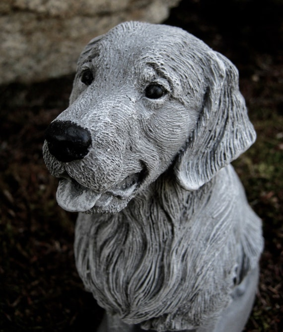 Awesome Golden Retriever Statue Dog Memorial