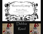 "RESERVED Installment Listing for ""DEBBIE REED"" 2nd Installment for ""Christmas Elf Stand Centerpiece"" 2017 Delivery"