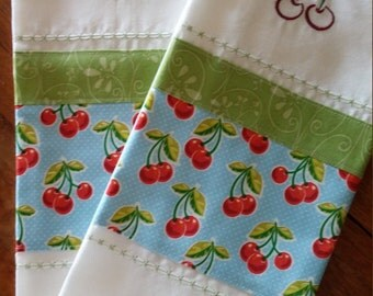 Country Cherry Tea Towels