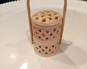 Stacking Basket made from Bone