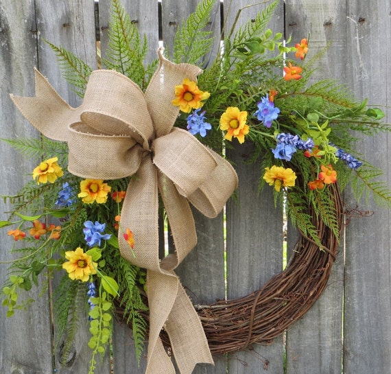 spring front door wreathsHorns Handmade  Front Door Wreaths  Christmas Wreaths  Tree