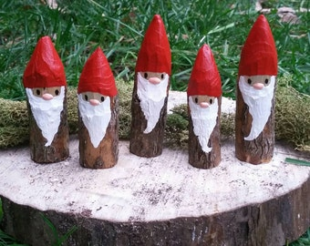 Wooden Christmas Gnome