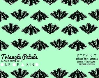 Triangle Petals - ETSY KIT
