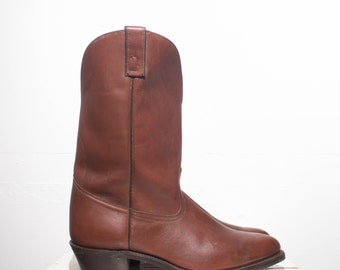 13 D | Men's Pull On Western Style Work Boots by TEXAS Boot Co.