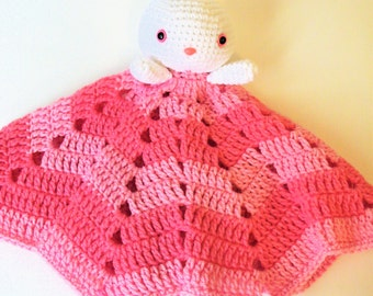 Bunny Lovey in Two Shades of Pink