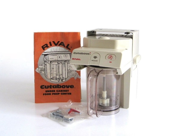 Rival Cut Above Food Processor 6000 Spacemaker Under Counter