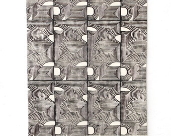 Con Geo Block Printed Wall Textile