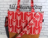 Custom Add On- Adjustable Messenger strap - Detachable Strap for Lulu Bag