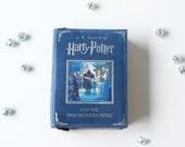 Harry Potter Blue Leather Book Bag