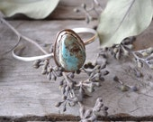 turquoise cuff // pilot mountain turquoise