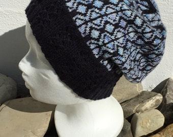 "Handknit Hat ""Divelish"""