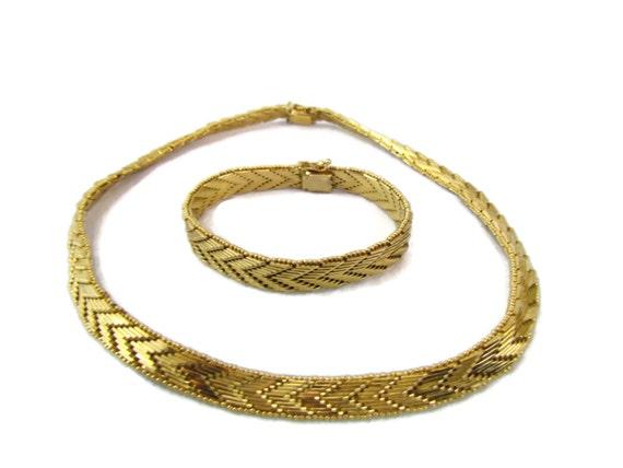 napier jewelry chevron necklace gold napier necklace napier