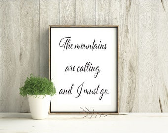 Downloadable printable quote artwork IW009