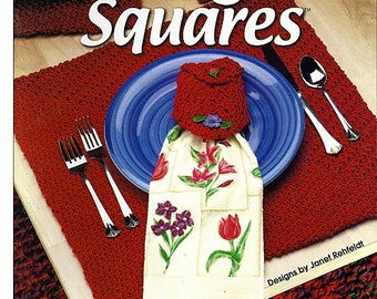 Learn to Crochet Easy Magic Squares Annies Attic Pattern Book 874516