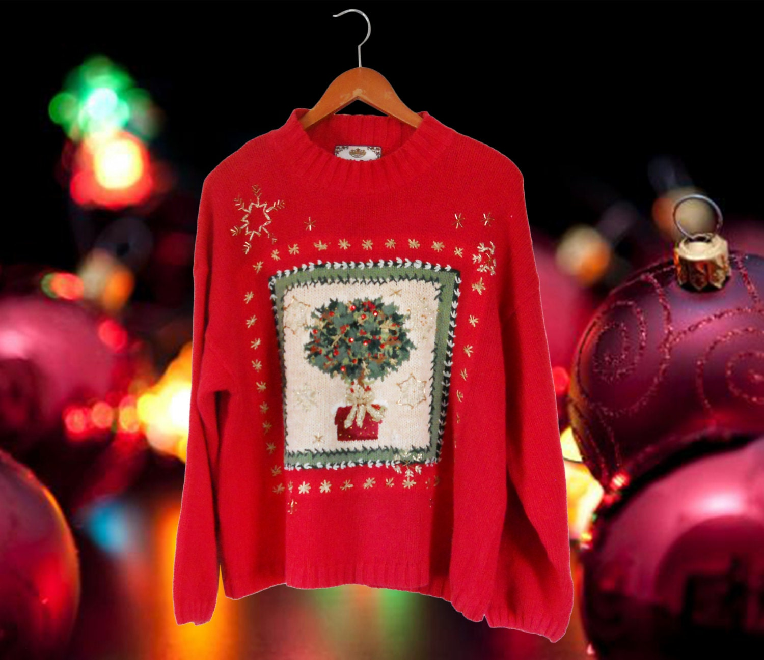 Ugly Christmas Party Sweaters: Women Ugly Christmas Sweater Party Ugly Holiday Sweater Tacky