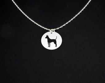 American Hairless Terrier Necklace - American Hairless Terrier Jewelry - American Hairless Terrier Gift