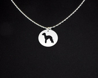 Bedlington Necklace - Bedlington Jewelry - Bedlington Gift