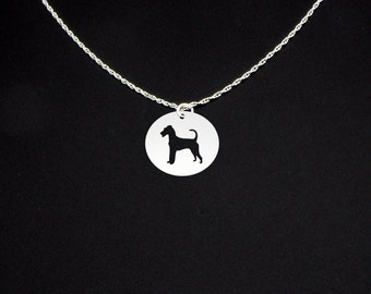 Irish Terrier Necklace - Irish Terrier Jewelry - Irish Terrier Gift