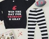 "WSU COUGARS ""Win the Day"" crewneck sweatshirt"
