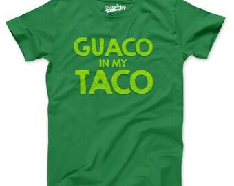 Mens Guaco In My Taco T-Shirt tacos are my life, i love tacos, taco Tuesday shirt S-5XL