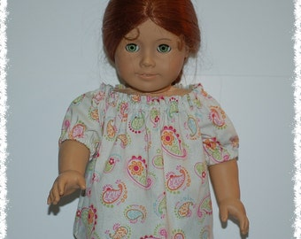 "18"" Doll Pheasant Top (American Girl Doll)"