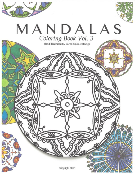 Mandalas Coloring Book Vol 3